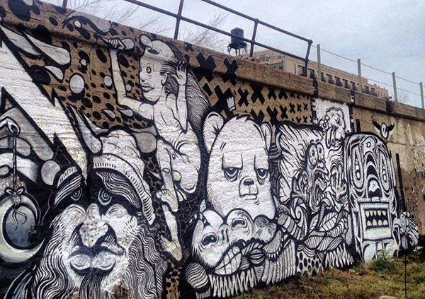Chicago, USA by Puerto Rican artist JC RIVERA