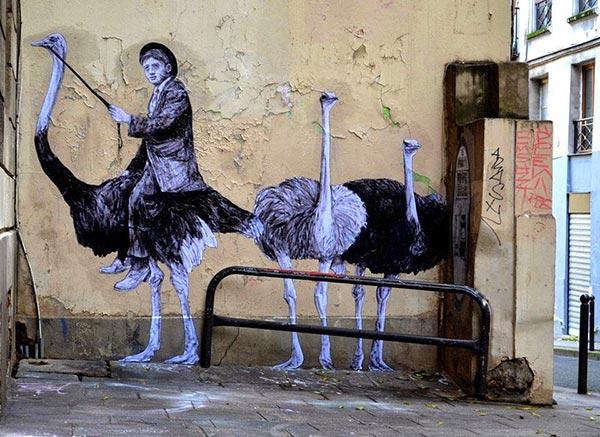 French paste up artist Levalet