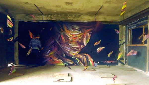 Mural by Hopare