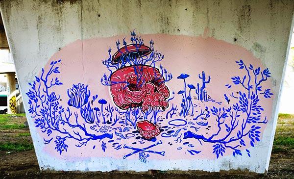Street art in Cluj, Romania by Alina Bohoru