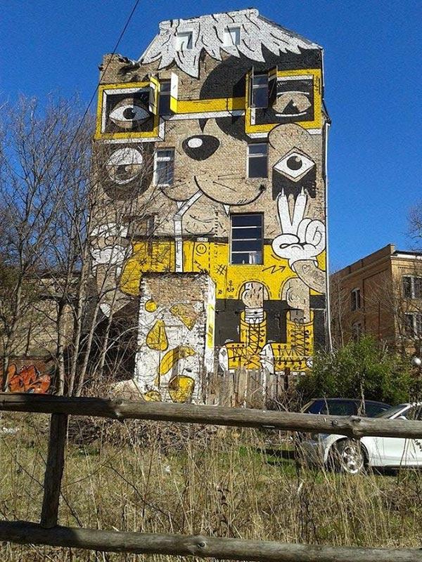 Street art in Halle an der Saale, Germany (Photo by Judith Muller)