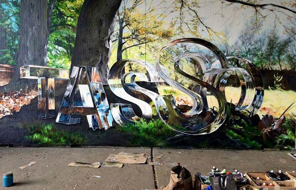 Amazing work by German artist Tasso in Cali, Columbia