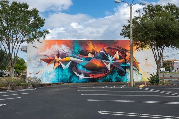 Shine Mural Festival in Florida