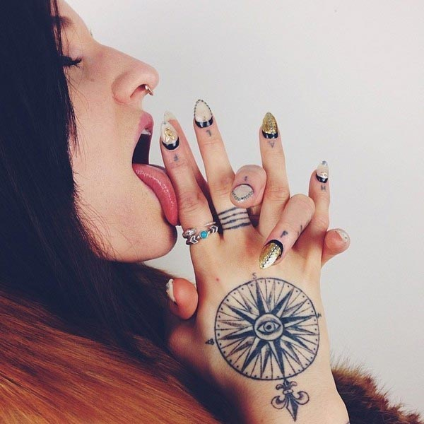 Ideas for Small Hand Tattoos