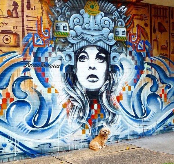 Cool Street Art - Dubiz in Melbourne, Australia