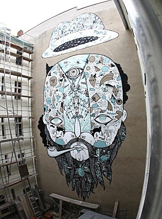 Cool Street Art - Johannes Mundinger in Berlin, Germany