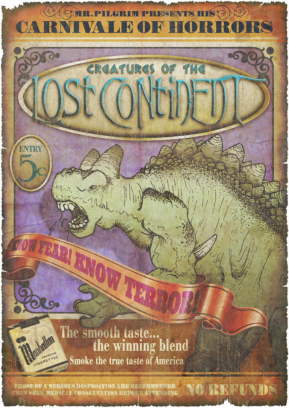 Creatures of the Lost Continent
