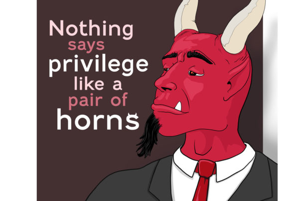 The Pompous Demon Mr Pilgrim Art Character Illustration